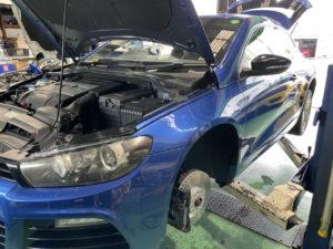 VW シロッコR ブレーキローター交換
